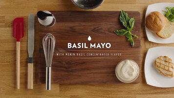 Monin: Basil Mayo, Habanero BBQ Sauce, and Ginger Caesar Dressing