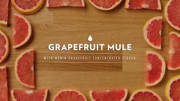 Monin: Grapefruit Mule