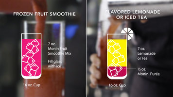 Monin: Puree vs Fruit Smoothie Mix