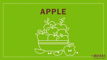 Mrs. Meyer's Garden-Inspired Scents: Apple