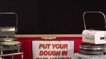 DoughXpress: DXM-SS Manual Pizza Dough Press