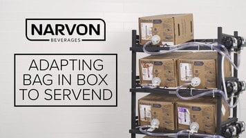 Adapting Narvon Bag in Box Syrups to Servend Dispensers