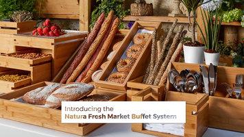 Rosseto Natura Fresh Market Buffet System