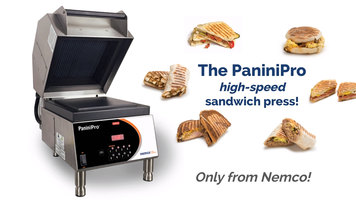 Nemco PaniniPro Overview