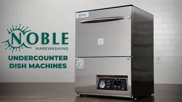 Noble Warewashing Undercounter Dishwashers
