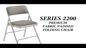 National Public Seating 2200 Series Folding Chair