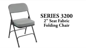 National Public Seating 3200 Series Folding Chair