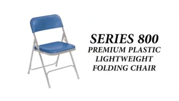 National Public Seating 800 Series Folding Chair