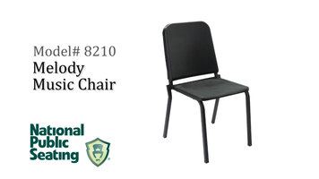 National Public Seating 8210 Series Melody Music Chair