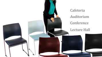 National Public Seating Cafetorium Stacking Chairs