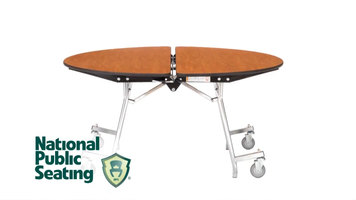 National Public Seating MTS Series Mobile Tables
