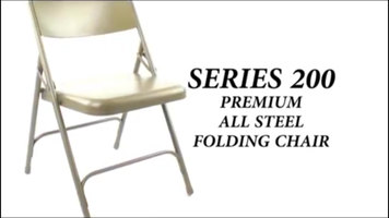 National Public Seating 200 Series Folding Chairs