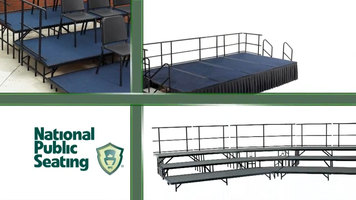 National Public Seating: Stages and Risers