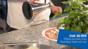 GI Metal: How to Use the Stainless Steel Oil Can