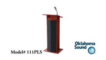 Oklahoma Sound 111PLS Power Plus Lectern