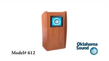Oklahoma Sound 612 Vision Lectern