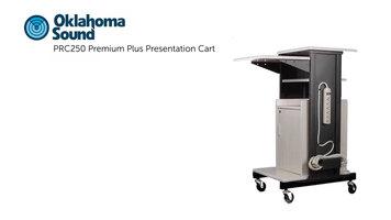Oklahoma Sound PRC250 Premium Plus Presentation Cart