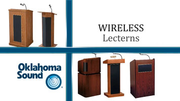 Oklahoma Sound Wireless Lecterns