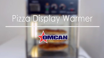 Omcan Pizza Warmer Display