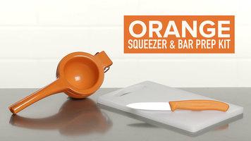 Orange Squeezer and Bar Prep Set
