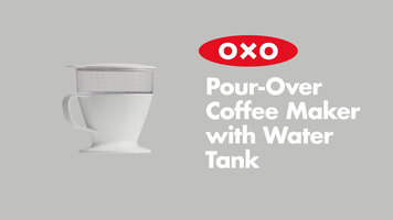 OXO Pour-Over Coffee Maker with Water Tank