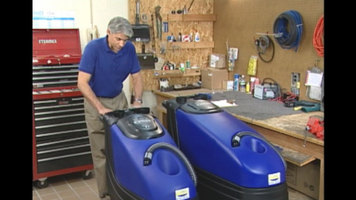 Features of the Pacific Z-Series Floor Scrubbers