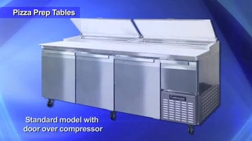 Continental Refrigeration Pizza Prep Tables