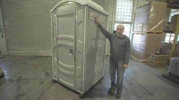 PolyJohn Portable Restroom Screen Replacement
