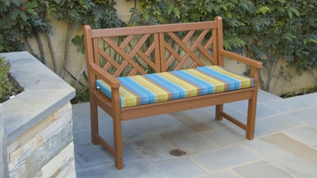 Polywood Chippendale Bench