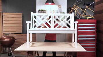 Polywood Chippendale Bench Assembly