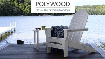 Polywood Classic Oversized Adirondack Chair