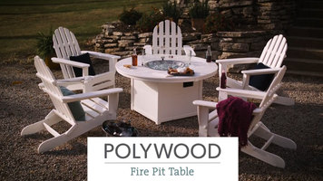 Polywood Fire Pit Table