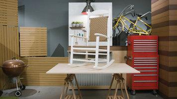 Polywood Jefferson Woven Rocking Chair