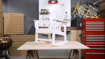 Polywood South Beach Rocking Chair Assembly