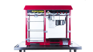 Carnival King Royalty Series Popcorn Popper/Merchandiser