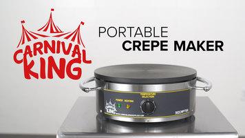 Carnival King Portable Crepe Maker