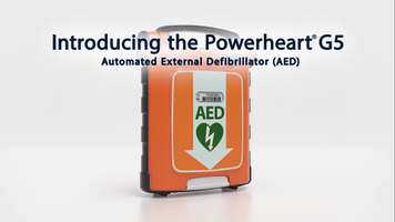 Powerheart G5 AED | Intellisense CPR Feedback Device Demo Video - US/Canada