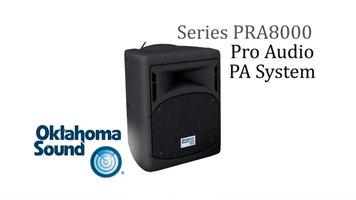 Oklahoma Sound - PRA8000 PA System