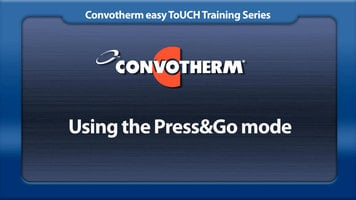 Cleveland Convotherm: Press&Go