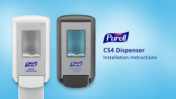 Purell CS4 Hand Sanitizer Dispenser Installation