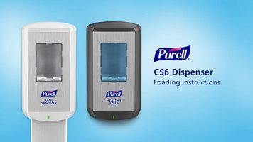 Purell CS6 Touch-Free Dispenser Installation