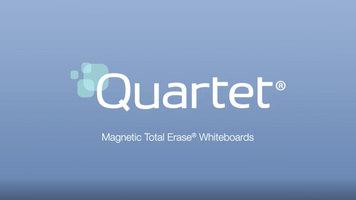 Quartet Magnetic Total Erase Whiteboards