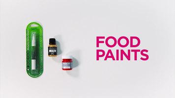 Rainbow Dust Food Paints