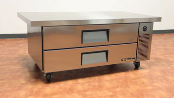 True Refrigerated Chef Base Tables
