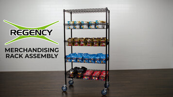 Regency Merchandising Rack Assembly