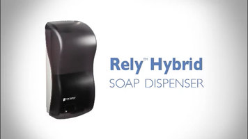 San Jamar Rely Hybrid Electronic Touchless Soap Dispenser