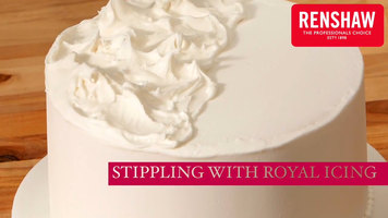 How to Stipple Using Renshaw Royal Icing