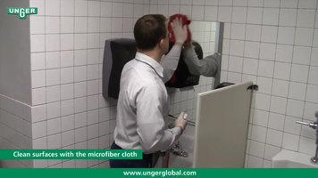 Unger Restroom Cleaning Steps Part 2