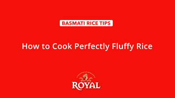 Basmati Rice: How to Cook Fluffy Rice