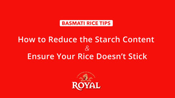 Basmati Rice: How to Ensure Rice Doesn't Stick